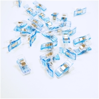 Wonder Clips mini / Stoffklammern, blau, 50 Stk