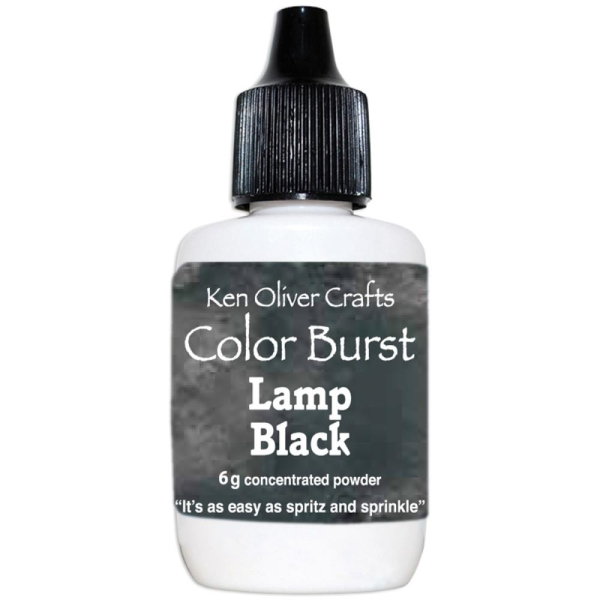 Color Burst Powder Lamp Black