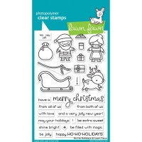 Lawn Fawn Clear Stamps Ho-Ho-Holidays