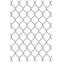 Kaisercraft Prägeschablone - Netting