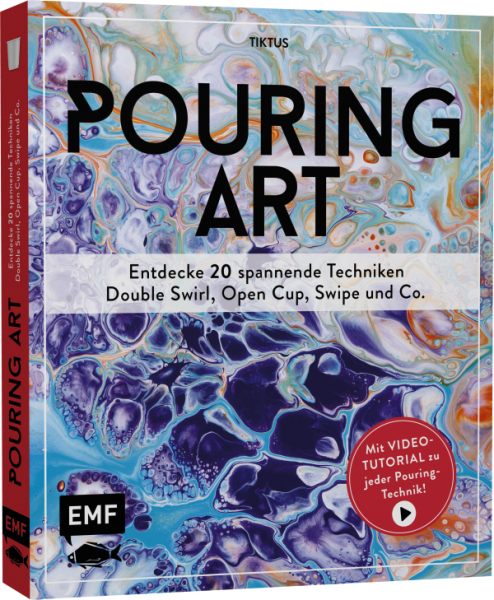 Buch - Pouring Art