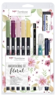 Tombow Watercolor-Set Floral