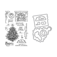 Hero Arts Stamp and Die Set Home Scene