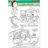 Penny Black Clear Stamp Set Carefree Christmas