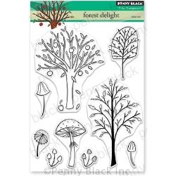 Penny Black Clear Stamp Set Forest Delight