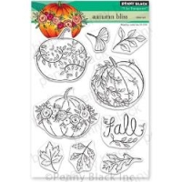 Penny Black Clear Stamp Set Autumn Bliss