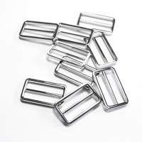 Versteller doppelt für 40mm Band - Silber