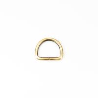 D-Ring für 25mm Band - gebürstetes Gold
