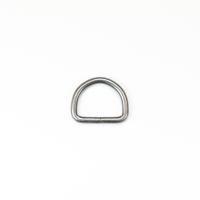 D-Ring für 25mm Band - Altsilber