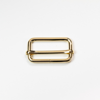 Versteller doppelt für 40mm Band - Gold