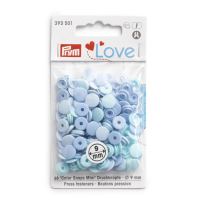 Prym Love Color Snaps Mini T3 hellblau-mint