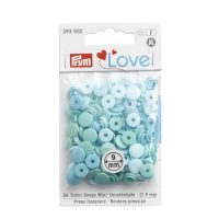 Prym Love Color Snaps Mini T3 aqua-türkis