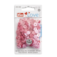 Prym Love Color Snaps Mini T3 rosa-pink