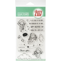 Avery Elle Clear Stamp Set Cupids