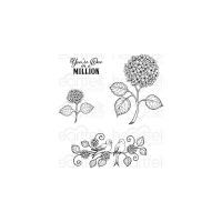 Heartfelt Creations Cling Stamp - Cottage Garden - Fresh...