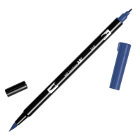 Tombow ABT Dual Brush Pen 569 jet blue