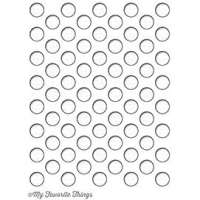 My favorite things Stanzschablone - Peek-a-Boo Polka Dots
