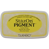 Stempelkissen StazOn Pigment - Lemon Drop