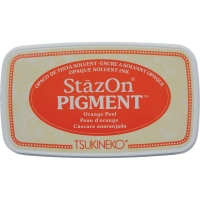 Stempelkissen StazOn Pigment - Orange Peel