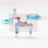 Wonder Clips mini mit Aufhängeloch / Stoffklammern, bunt, 50 Stk