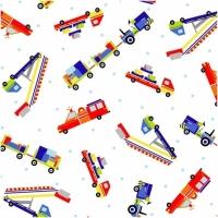 Baumwolle Air Show Fahrzeuge auf weiss