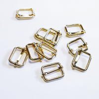 Versteller doppelt für 25mm Band Gold