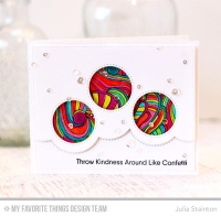 My favorite things die Stanze - Stitched Triple Peek-a-Boow Window & Edge Die-namics