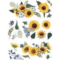 Re-Design Décor Transfers - Sunflower Fields