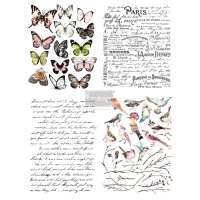 Re-Design Décor Transfers - Parisian Butterflies