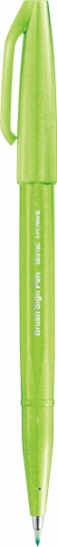 Pentel Brush Sign Pen Pinselstift lime