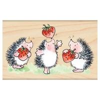 Penny Black Holzstempel Strawberry Jam