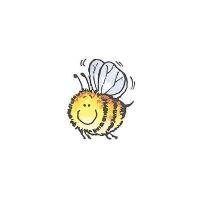 Penny Black Holzstempel Honey! Biene