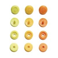 Prym Love Color Snaps Mini in Annähoptik T3 gelb