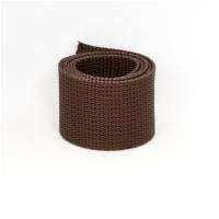 Poly Gurtband 40mm Dunkelbraun