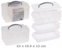 Plastik Box Mehrzweck mit 3 Elementen