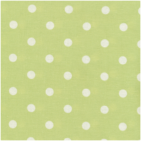 Au Maison Wachstuch Dots Big Dusty Green
