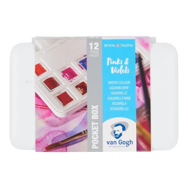 van Gogh Pocketbox Pinks & Violets