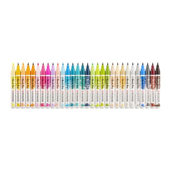 Ecoline Brush Pen Set 30 Zusatzfarben