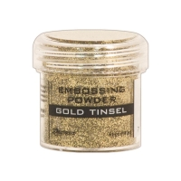Embossingpulver Gold Tinsel