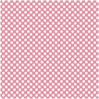 Tilda Baumwolle Paint Dots Pink