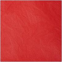 Kunstleder glatt rot