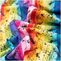 Baumwolle Buzzin Around Stripe Rainbow