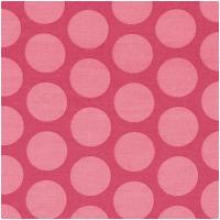 Au Maison Wachstuch Super Dots Raspberry/Peach