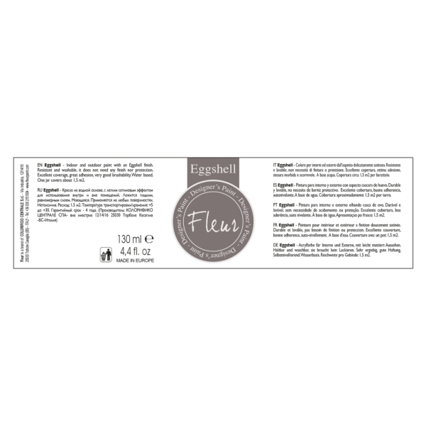 To Do Fleur Paint Eggshell Greige 130ml