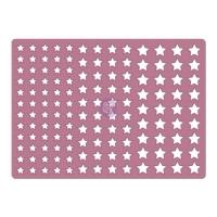 Prima Stanzschablone Stars Confetti