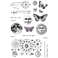 Prima Cling Stamp - Dream Without Fear