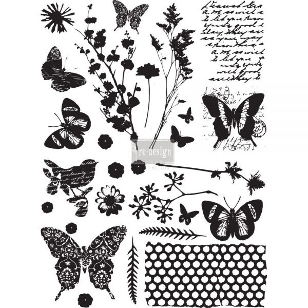 Re-Design Adhesive Transfers - Papillon