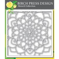 Birch Press Schablone - Midnight Mandala 15x15cm