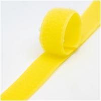 Klettverschluss Haken+Flausch 20mm Gelb