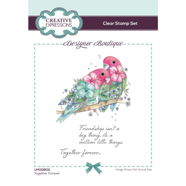 Creative Expressions Clear Stamp Set Together Forewer